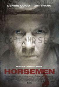 Horsemen film poster