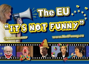 Image courtesy of Nikki Sinclaire's The EU, It's Not Funny web blog